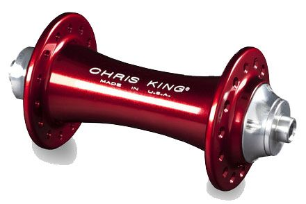 Chris King R45 24h Red Front Road Hub