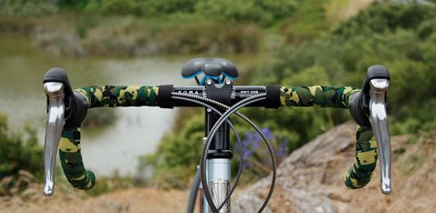 Soma Bar Tape Striated Camo Green