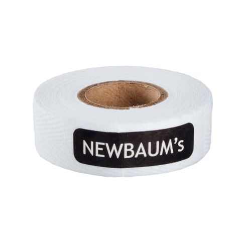 Newbaums White Cloth Bar Tape Each