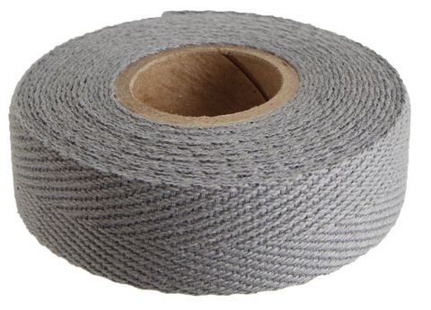 Newbaums Grey Cloth Bar Tape Each
