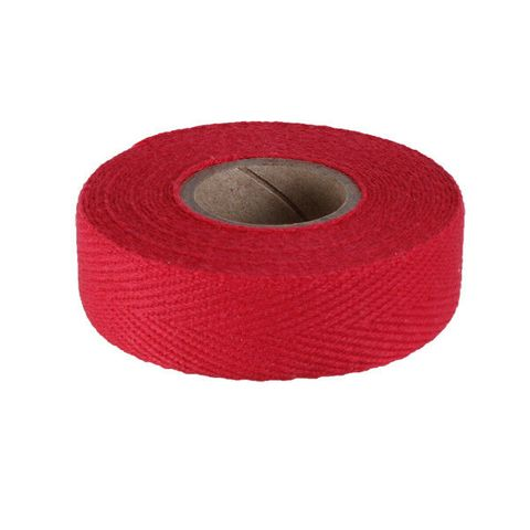 Newbaums Bright Red Cloth Bar Tape Each