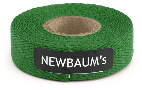 Newbaums Grass Green Cloth Bar Tape Each