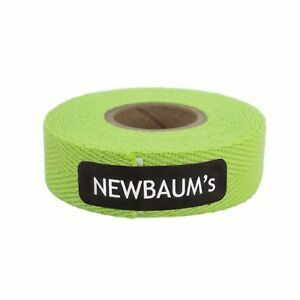 Newbaums Lime Green Cloth Bar Tape Each