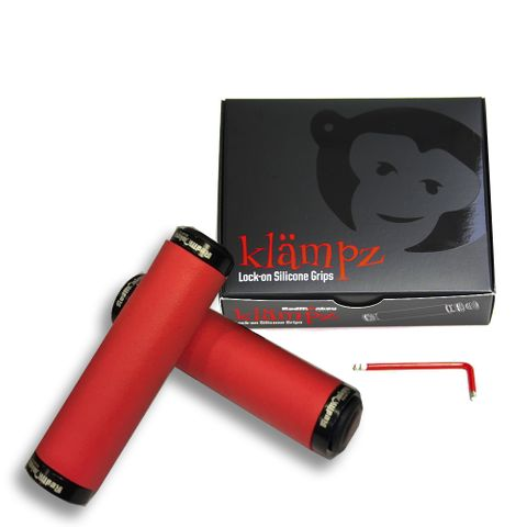 RedMonkey Klampz LockOn Silicone RED
