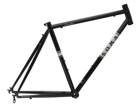 Soma Smoothie 54cm Black Frame