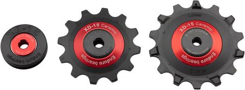 Enduro XD15 Ceramic Jockey Wheels EAGLE