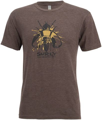 Surly Wingnut T-Shirt Brown MD