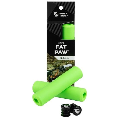 Wolf Tooth Fat Paw Grips Green
