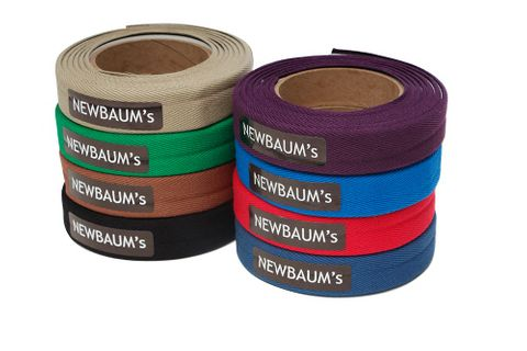 Newbaums Cushioned Cloth Bar Tape Yellow