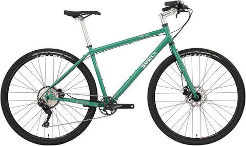 Surly Bridge Club 700 Bike LG Green