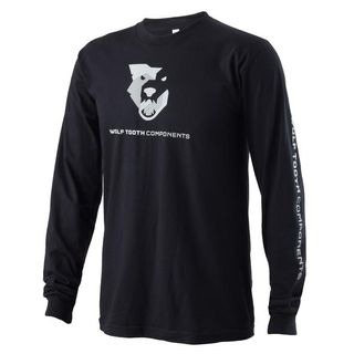 Wolf Tooth Logo Long Sleeve T-Shirt LG