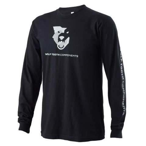 Wolf Tooth Logo Long Sleeve T-Shirt MD