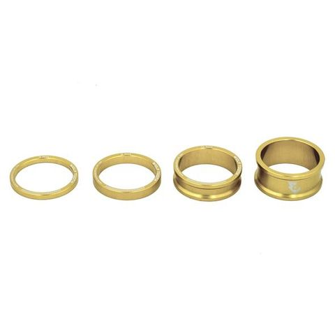 Wolf Tooth Headset Spacers Gold 25mm