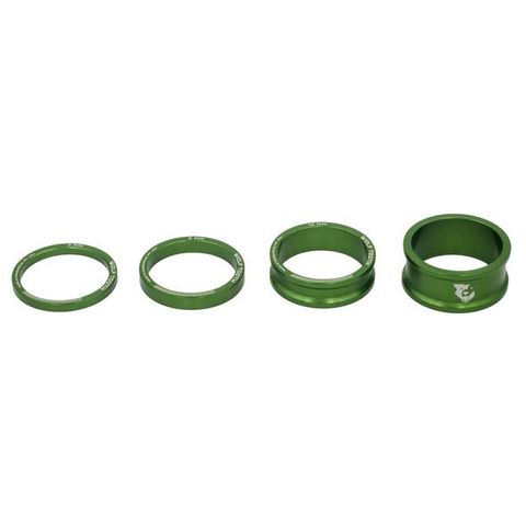 Wolf Tooth Headset Spacers Green Kit