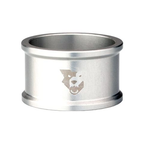 WOLF TOOTH HEADSET SPACER SILVER