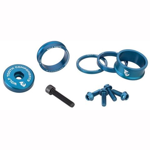 Wolf Tooth Anodized Bling Kit Blue