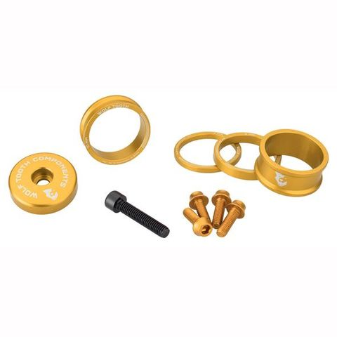 Wolf Tooth Anodized Bling Kit Gold