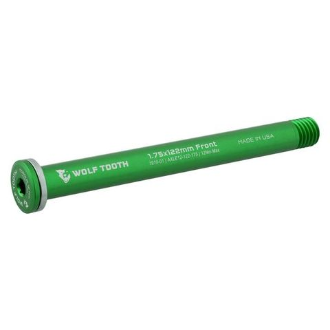 Wolf Tooth Axle Road 12mm 1.75x122 Green