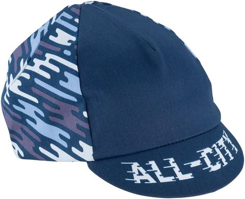 All-City Flow Motion Cycling Cap Blue