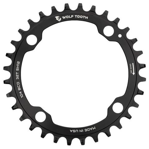 Wolf Tooth 104 34t Shimano 12spd Black