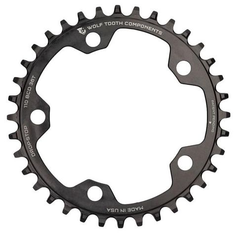 Wolf Tooth CX 110 38t Black FT
