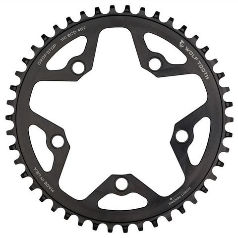 Wolf Tooth CX 110 44t Black FT