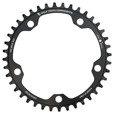 Wolf Tooth CX 130 40t Black FT