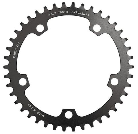 Wolf Tooth CX 130 44t Black FT