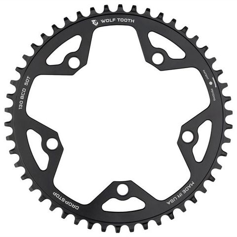 Wolf Tooth CX 130 52t Black FT