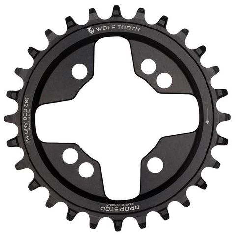 Wolf Tooth 64 28t Black