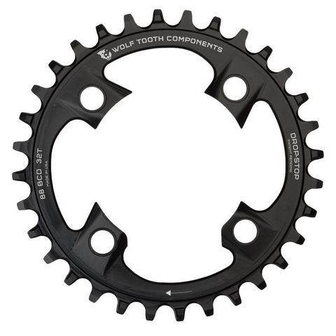 Wolf Tooth 88 Shimano M985 38t Black