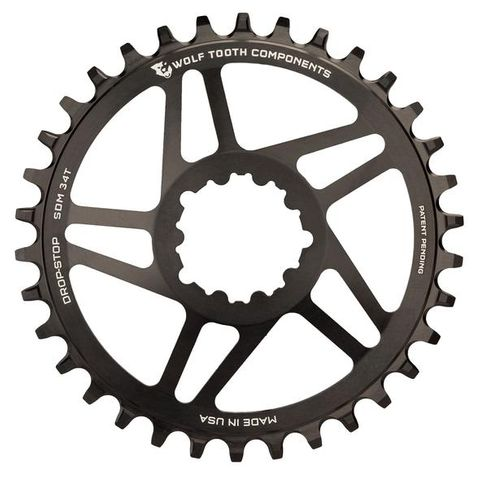 Wolf Tooth SRAM D/M 36t Black 6mm