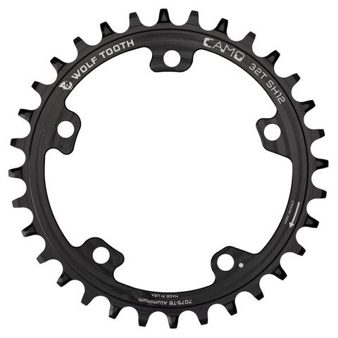 WOLF TOOTH CAMO 12SPD SHIMANO ALUMINUM CHAINRINGS