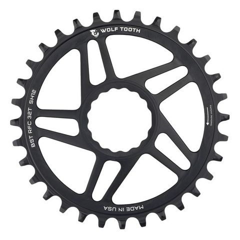 WOLF TOOTH RACE FACE CINCH DIRECT MOUNT SHIMANO 12SPD CHAINRINGS