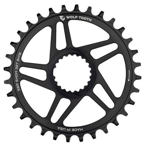 WOLF TOOTH DIRECT MOUNT SHIMANO 12SPD SUPER BOOST CHAINRINGS