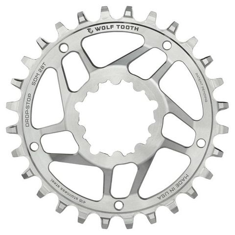 WOLF TOOTH DIRECT MOUNT SRAM STAINLESS STEEL CHAINRING