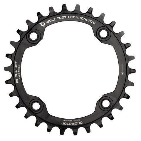 WOLF TOOTH 96 BCD SYMMETRICAL SHIMANO TRIPLE CHAINRING
