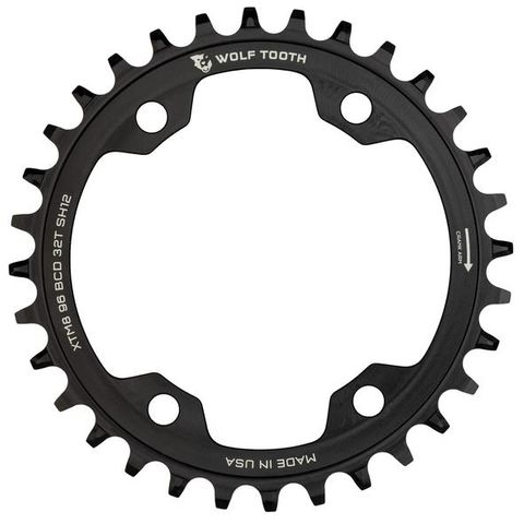 WOLF TOOTH 96 BCD SHIMANO XT M8000 12SPD CHAINRINGS