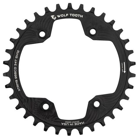 WOLF TOOTH 96 BCD SHIMANO XTR M9000 12SPD CHAINRINGS