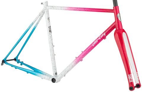 ALL-CITY NATURE CROSS FRAMESET CYCLONE POPSICLE
