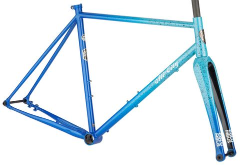 ALL-CITY NATURE CROSS SINGLE SPEED FRAMESET PROPANE FLAME