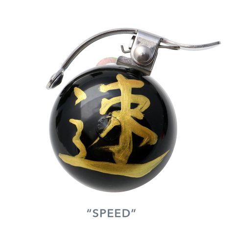 Crane Bell Omamori Talisman SPEED