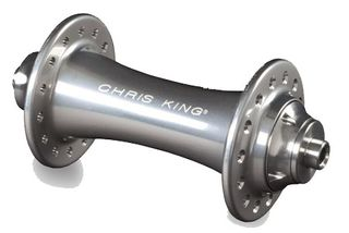 Chris King R45 20h Silver Front Road Hub