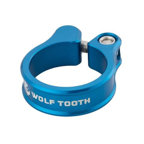 Wolf Tooth Seatpost Clamp38.6 Blue