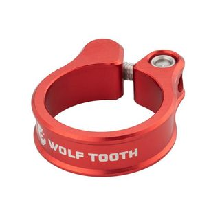 Wolf Tooth Seatpost Clamp38.6 Red