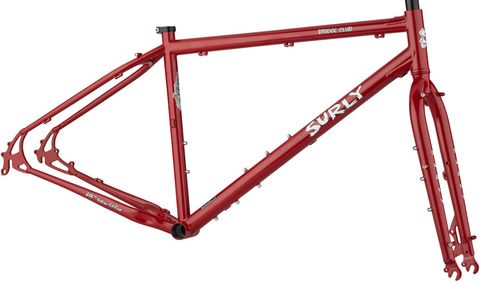 Surly Bridge Club Frameset XS Lipstick