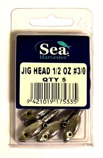 JIG HEAD 1/2 OZ 5 COUNT