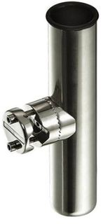 STAINLESS STEEL ROD HOLDER RAIL MOUNT