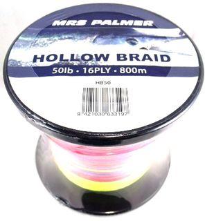 800 M HOLLOW BRAID
