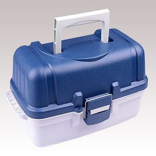 TACKLE BOX TWO TRAY DELUX (8)